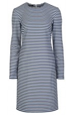 Nautical Stripes shift dress
