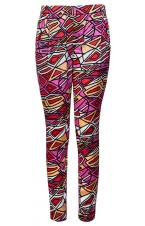 Abstract Printed Trousers