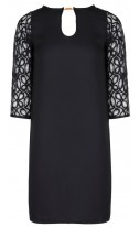 Combined Lace Dress
