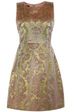 Vintage Gold leaf Baroque Dress