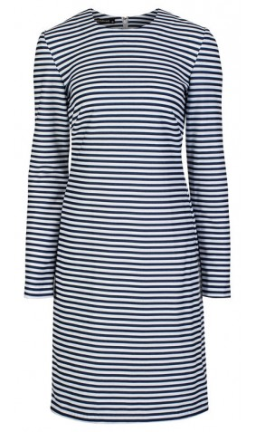 Nautical Stripes sailor dress