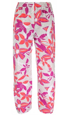 Floral Palazzo Trousers